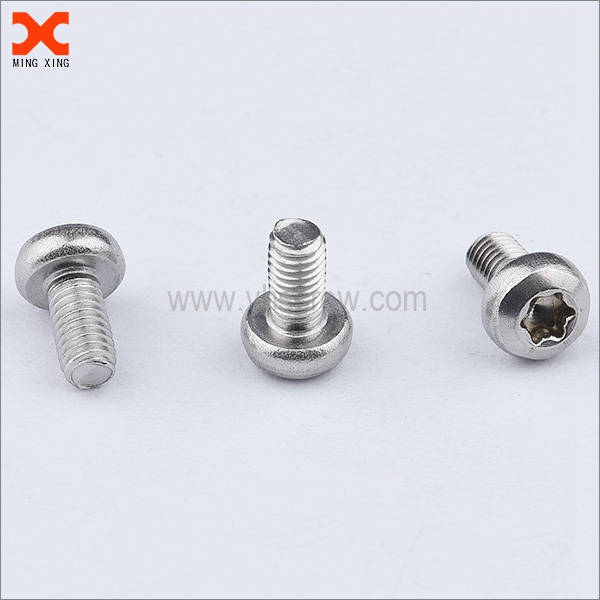 torx drive pan head stainless steel machine screws supplier