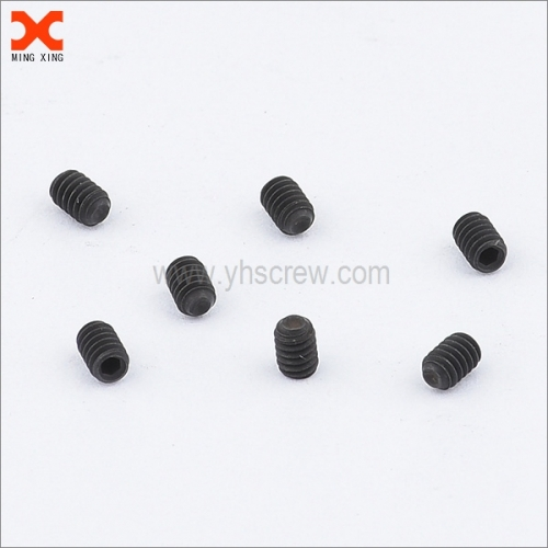 black oxide miniature socket head set screw wholesale