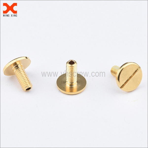 custom brass slotted screws manufacturer