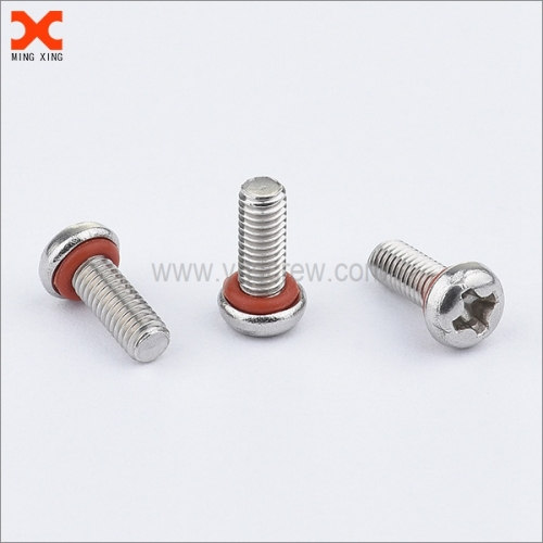 pan head phillips drive self sealing screws supplier