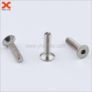 m5 countersunk stainless steel socket cap screw wholesale