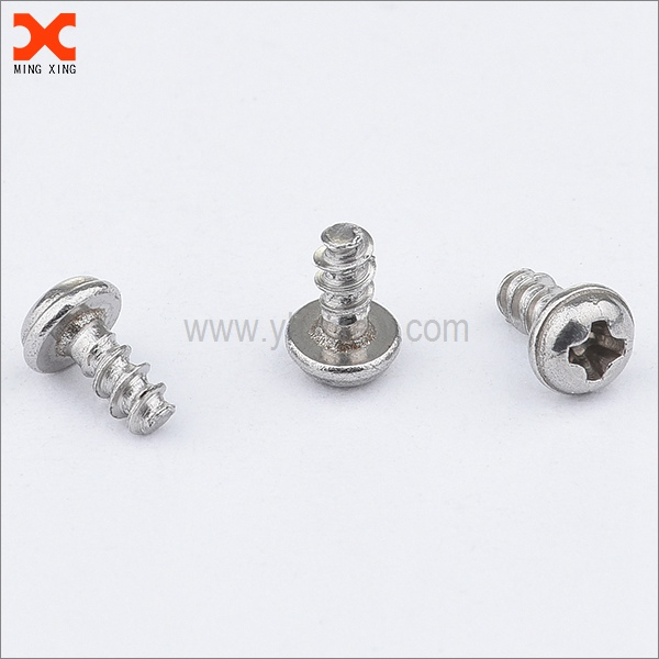 pan head phillips drive thread forming screws for steel