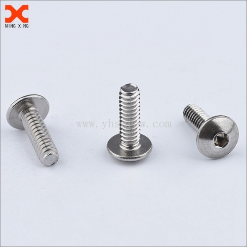 custom hex socket stainless steel truss head screws supplier