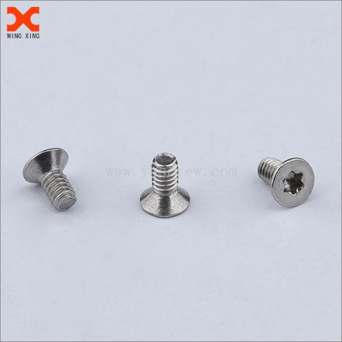 small torx drive flat head stainless steel screws wholesale