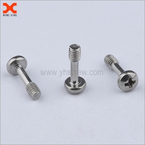 black nickel metric captive screws stainless steel