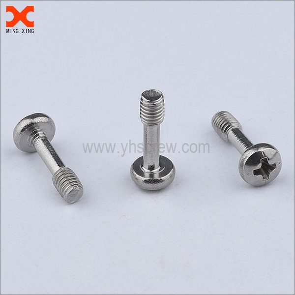 black nickel metric captive screws stainless steel