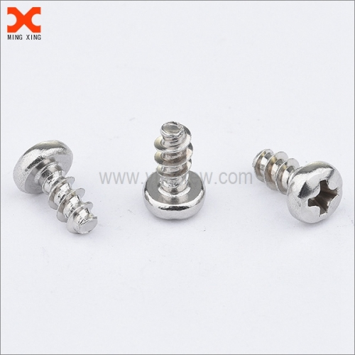 zinc plated phillips plastite thread forming screws for metal