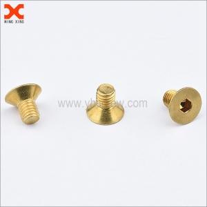 brass socket head brass countersunk screws wholesale