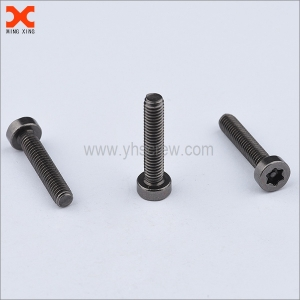 custom black nickel security screws and bolts manufacturers
