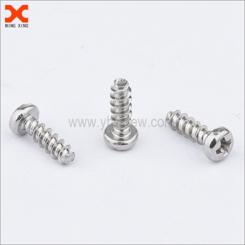 pan head phillips drive thread forming screws for plastic