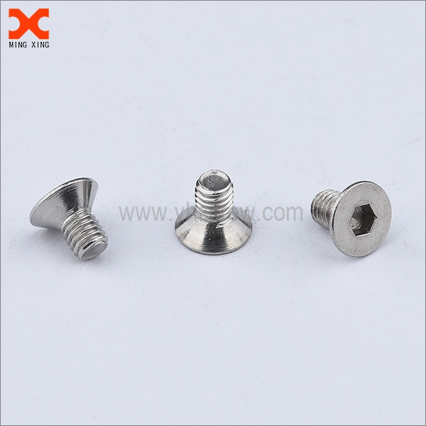 marine grade stainless steel countersunk socket screw supplier