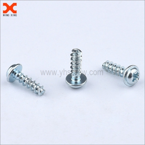 custom phillips washer head pt screws for plastic
