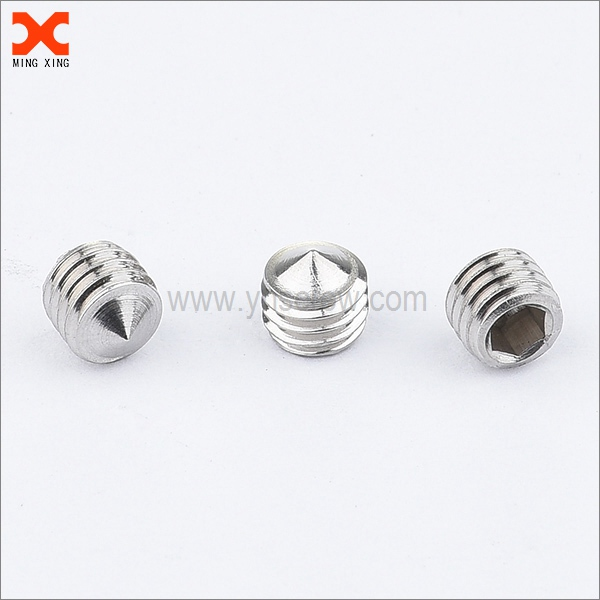 socket head cone point grub screw manufacturers