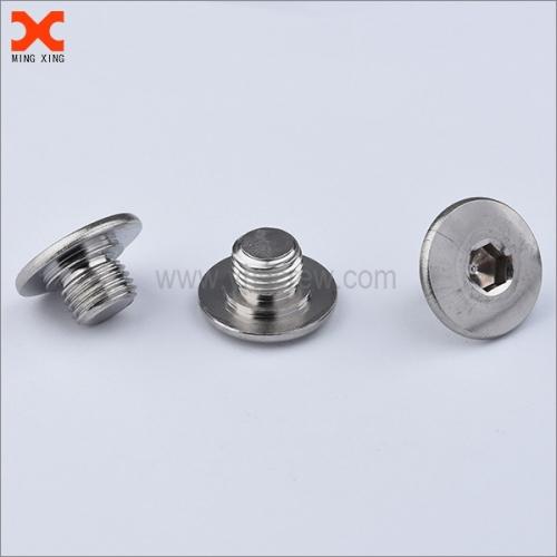 6mm allen socket stainless steel flat head screws supplier