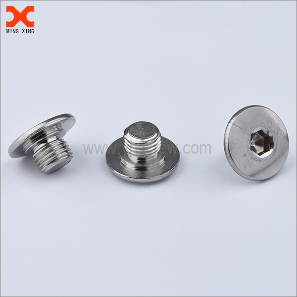 6mm allen socket stainless steel flat head screws supplier
