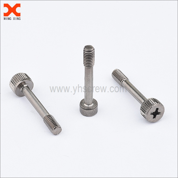 18-8 stainless steel captive thumb screw wholesale