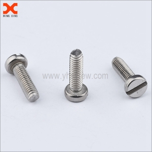what are machine screws