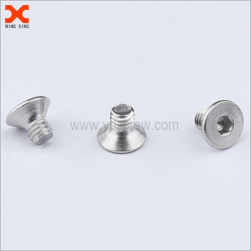 custom flat head socket stainless steel screws wholesale