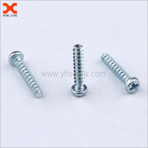 custom pan head phillips screws for thermoplastics