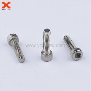 M4 cylindrical head stainless steel socket head cap screws
