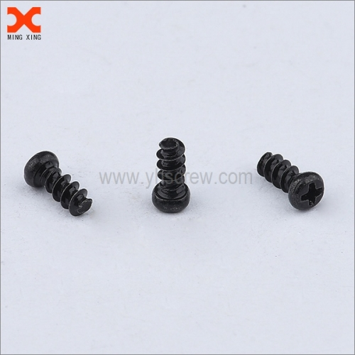 special black zinc phillips pan head tapping screw manufacturer