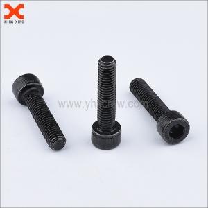 black socket head cap stainless machine screws