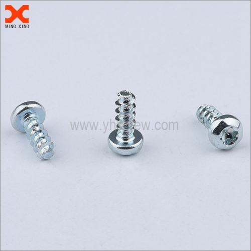 custom high low thread forming screw for plastic