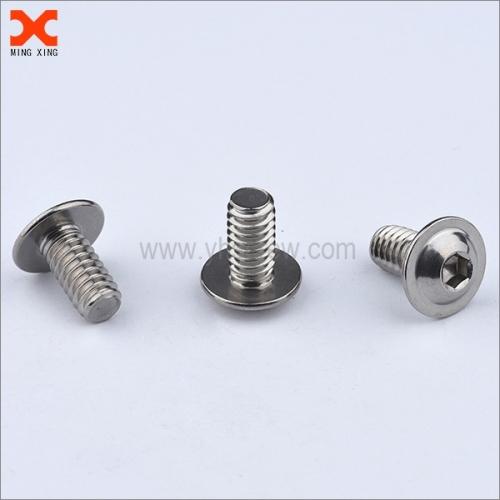 nickel plated hex socket washer head screws
