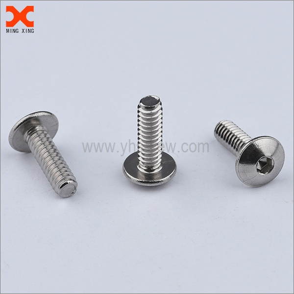 custome truss head hex socket machine screws supplier