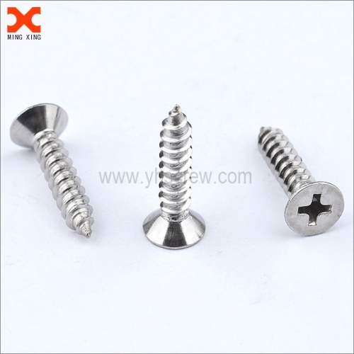 phillips head countersunk self tapping screws supplier