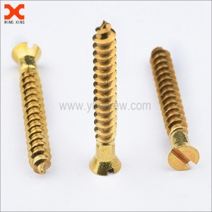countersunk slotted brass self tapping screws manufacturer