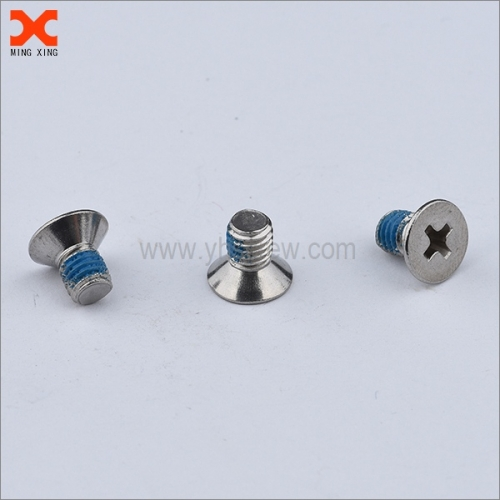 nylon countersunk phillips head machine screw