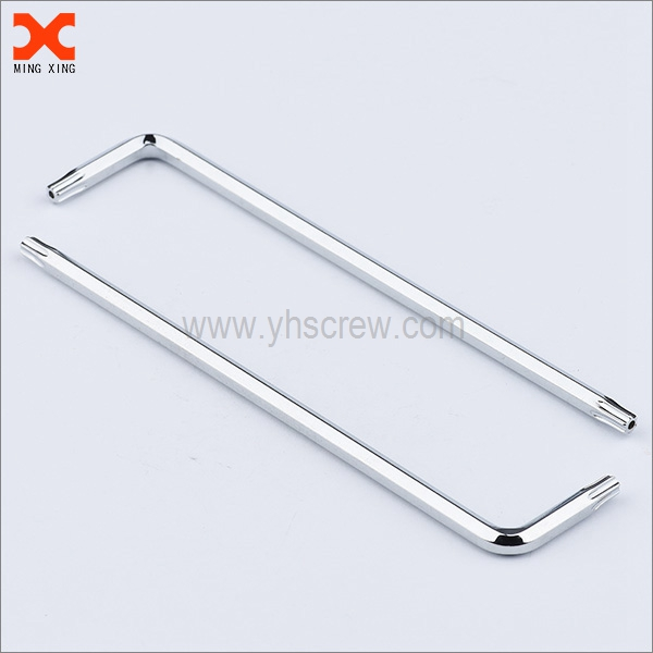 special security hex allen wrench with hole