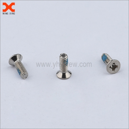 nylon phillips flat head machine screw supplier