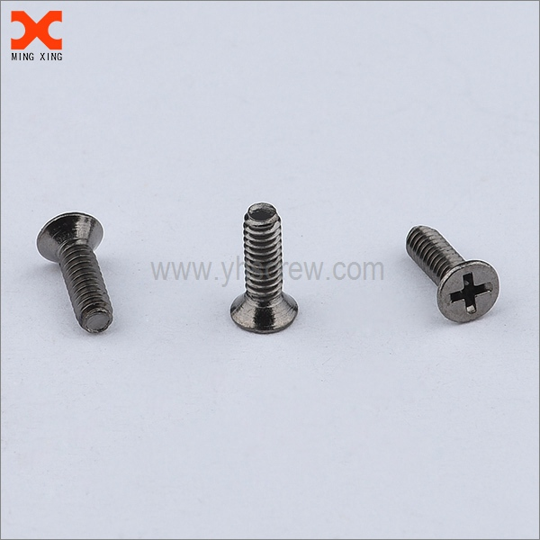 flat phillips fillister head machine screws supplier