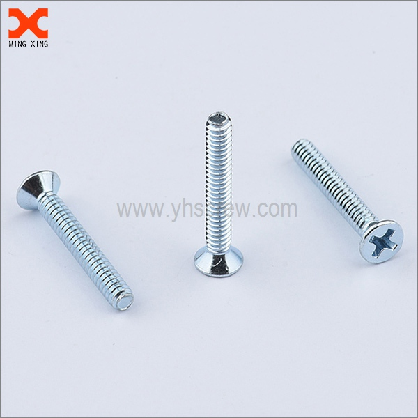 8-32 flat head phillips long machine screw supplier