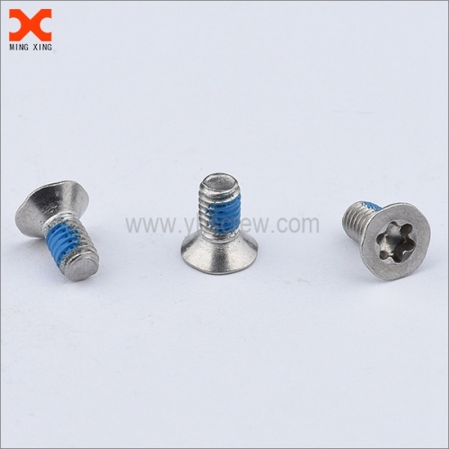 nylon torx flat head machine screws supplier