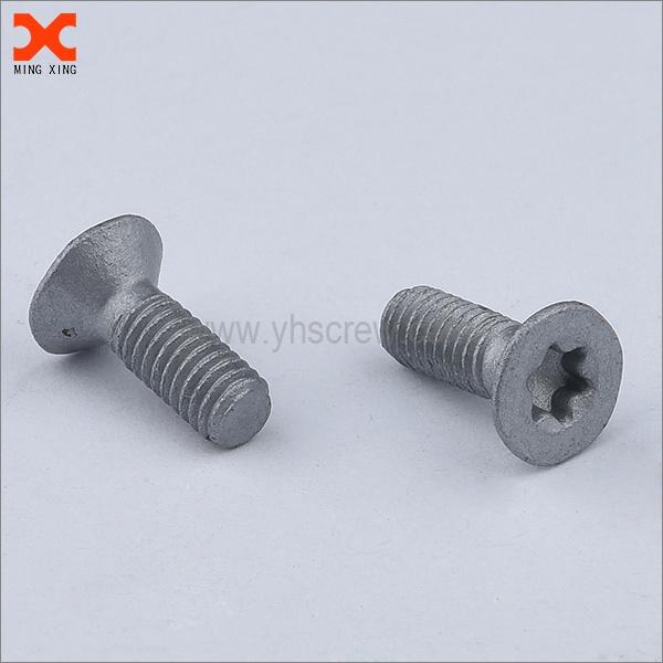 torx flat machine screws