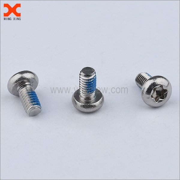 316 stainless steel metric pan head torx machine screws