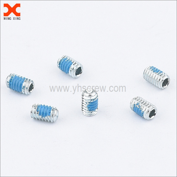 hex drive cup point nylon set screws manufacturers