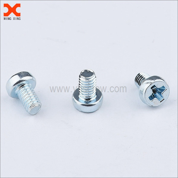 cheese head cross recessed 6mm machine screw supplier