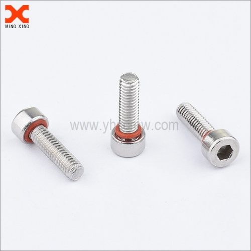 DIN 912 sealing cheese head hex socket screws supplier