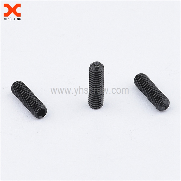 black oxide cup point socket stainless set screws wholesale