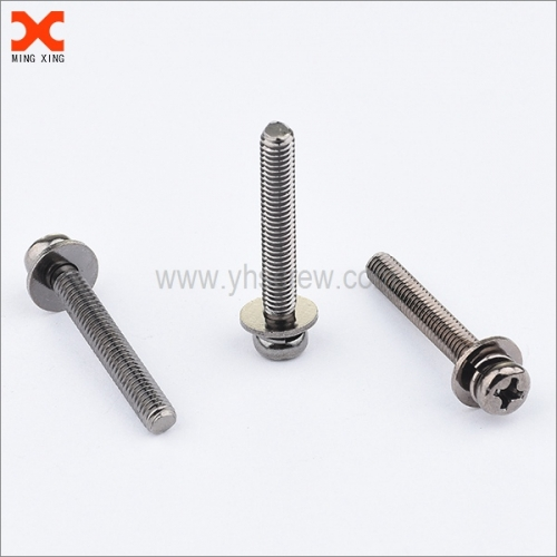 custom phillips pan head sems machine screw manufacturers