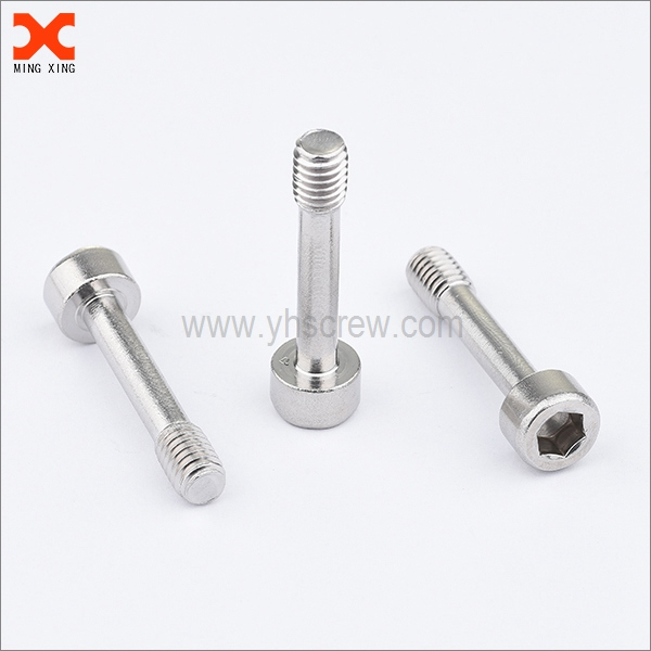 socket head cap captive half threaded screw