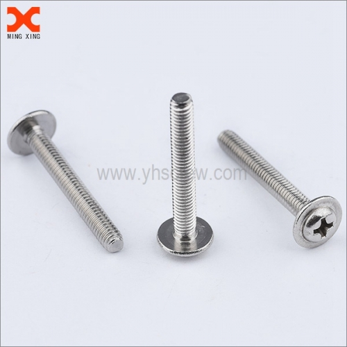 phillips washer head machine screws for sale