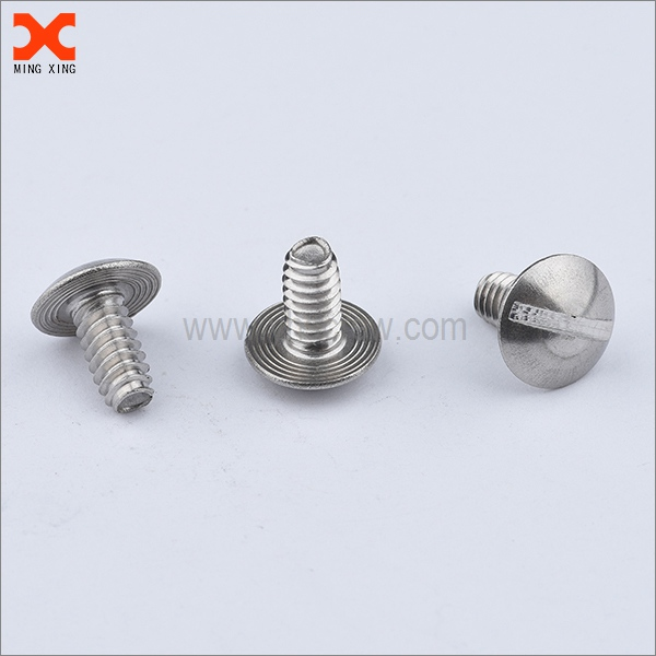 316 stainless steel slotted mushroom head screws supplier