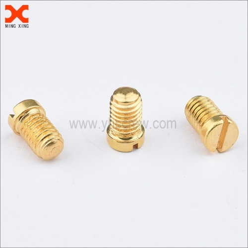 cheese head slotted brass screws for sale