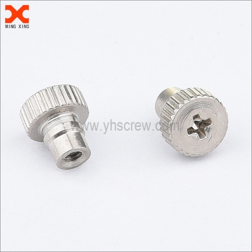phillips drive captive knurled thumb screws supplier