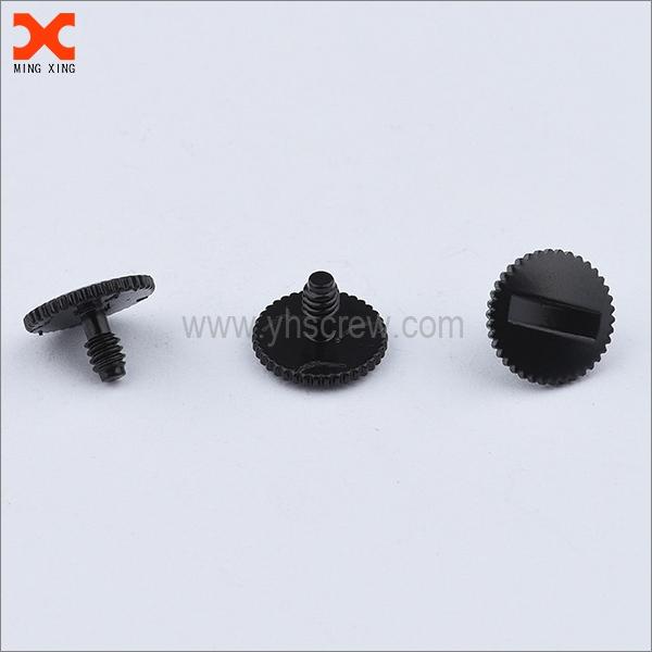 M2 big head black half thread screw captive hardware supplier